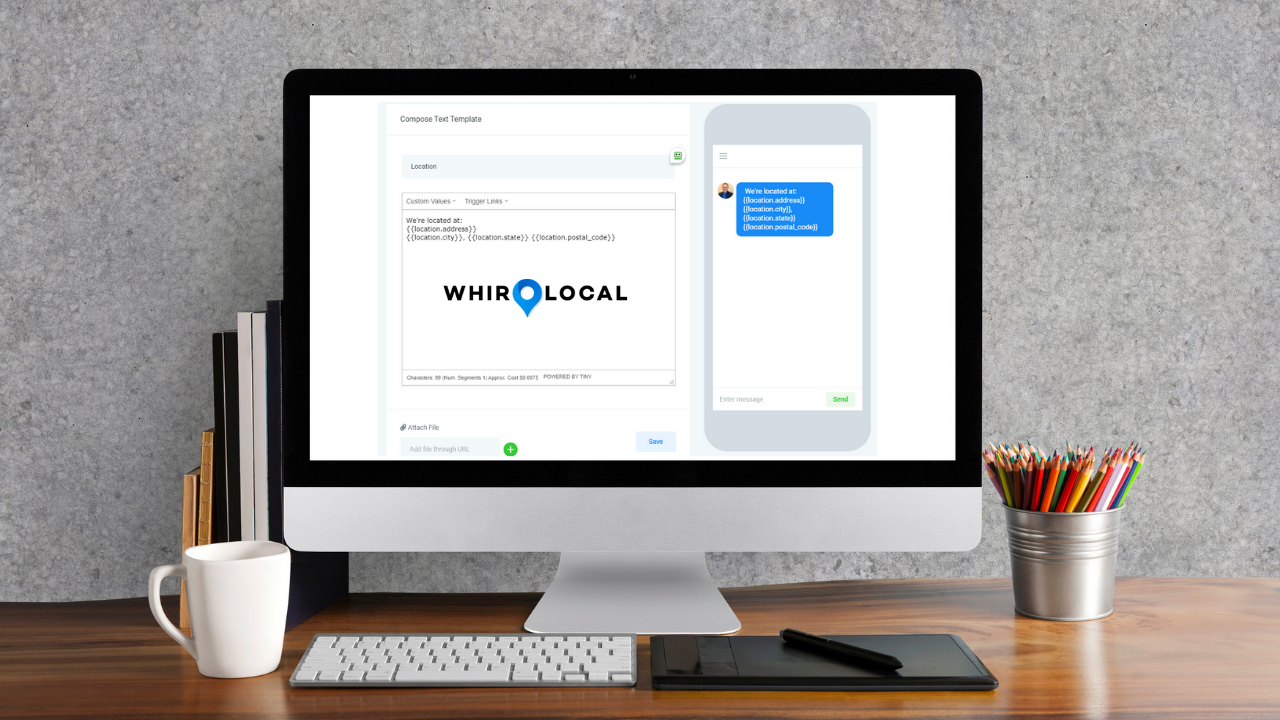 WhirLocal Contact Manager