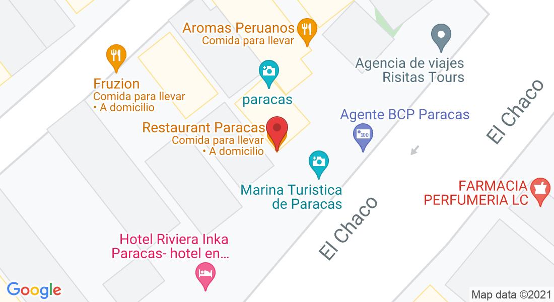 Of. 401, Av. Los Libertadores C10, Paracas 11550, Perú