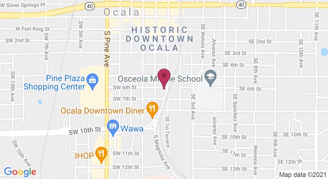 606 SE 1st Ave, Ocala, FL 34471, USA