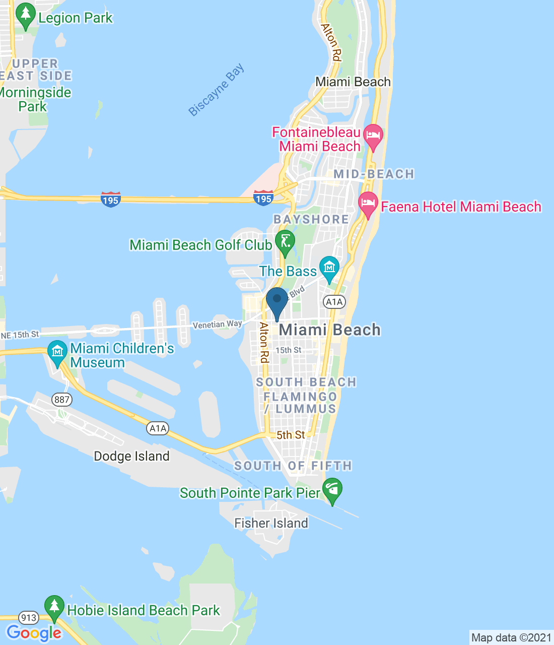 1680 Michigan Ave, Miami Beach, FL 33139, США
