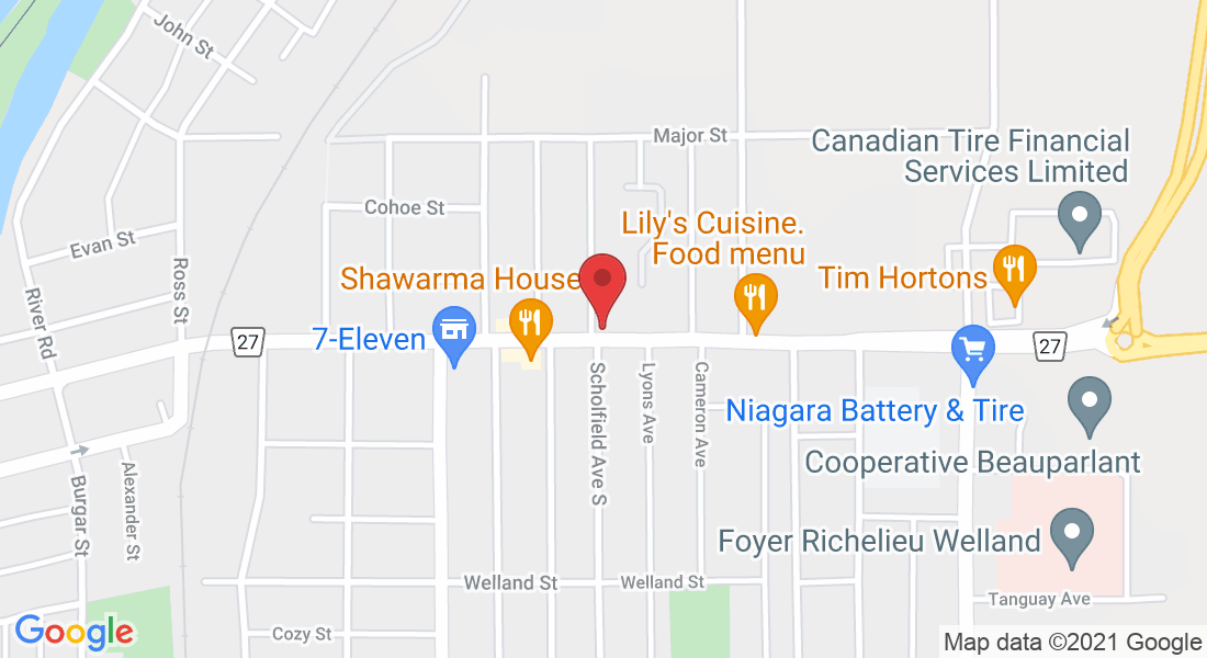 700 E Main St, Welland, ON L3B 3Y4, Canada