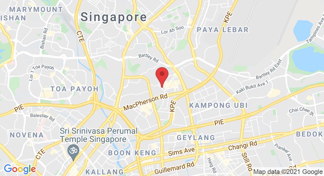 02-07, Quartz Industrial Building, 5 Upper Aljunied Link, Singapore 367903