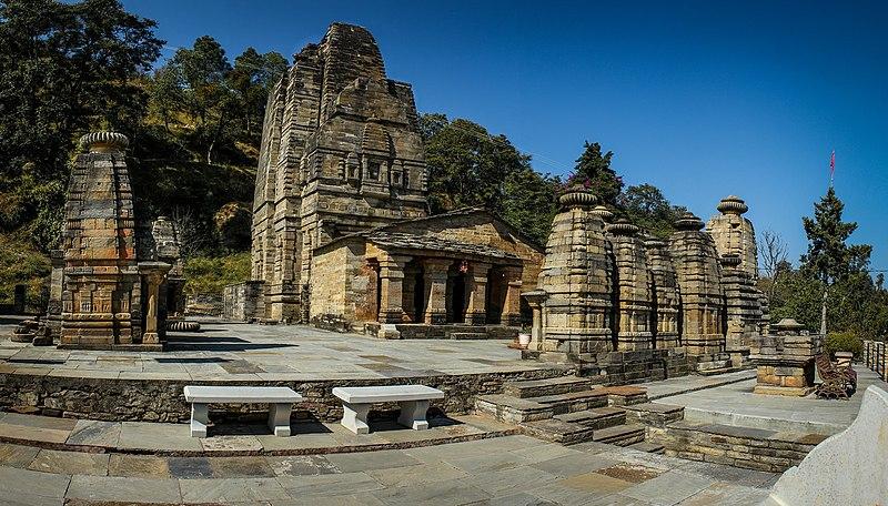 katarmal Sun Temple at Katarmal, ALmora, Uttarakhand, India