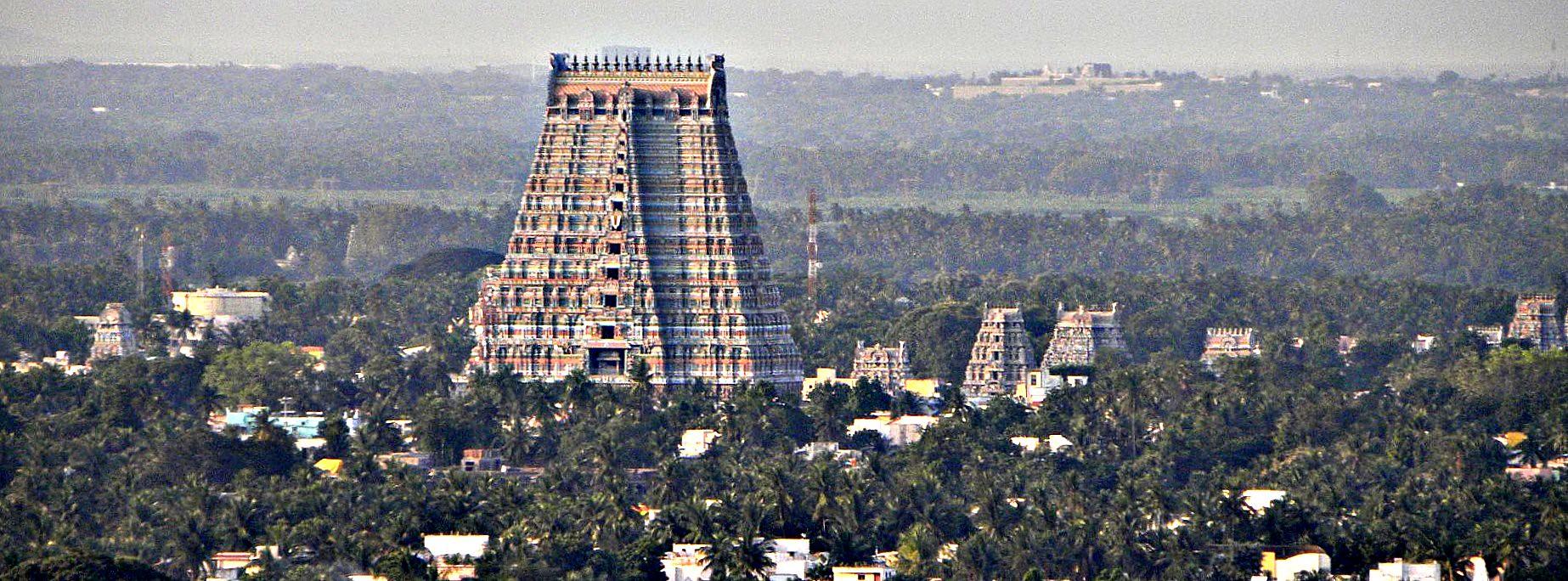 Sri Ranganathaswamy Temple Areal View