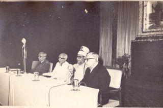 R.C. Majumdar At Ramakrishna Mission Institute of Culture, Calcutta