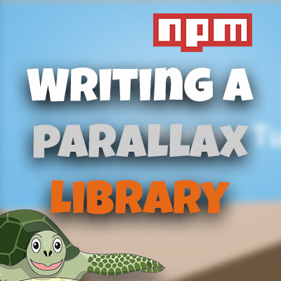Writing an NPM Library (Parallax Provider)
