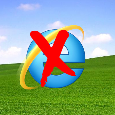 Internet Explorer is Gone!!!