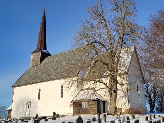 Mære kirke, sørveggen