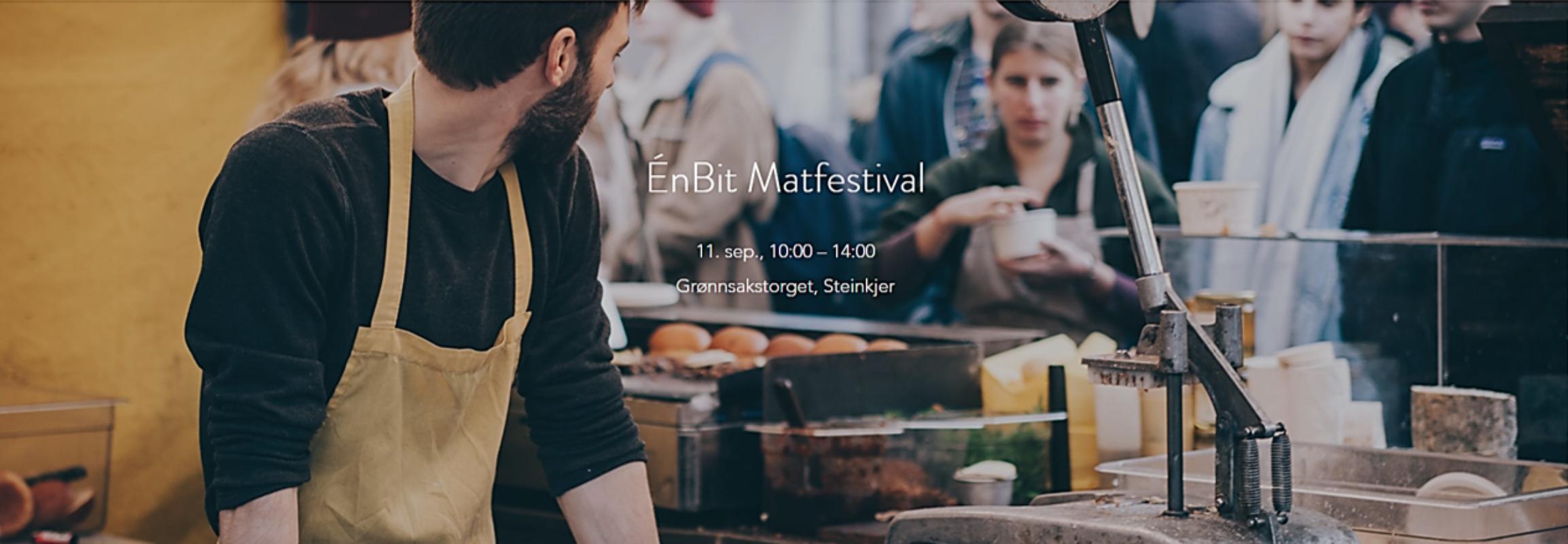 ÉnBit Matfestival skal skape verdier for lokalmatprodusenter gjennom innovasjon og kunnskapsdeling i et interaktivt og lekent format!