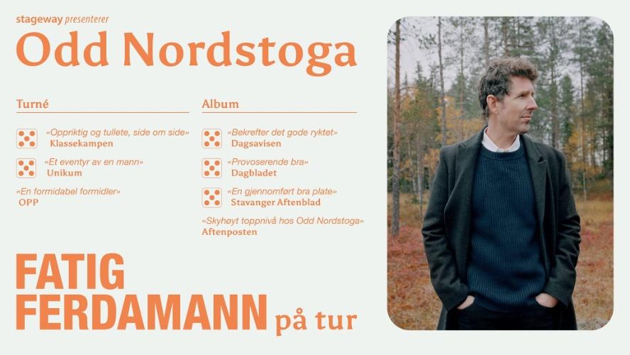 Odd Nordstoga – Fatig ferdamann på tur // Ste