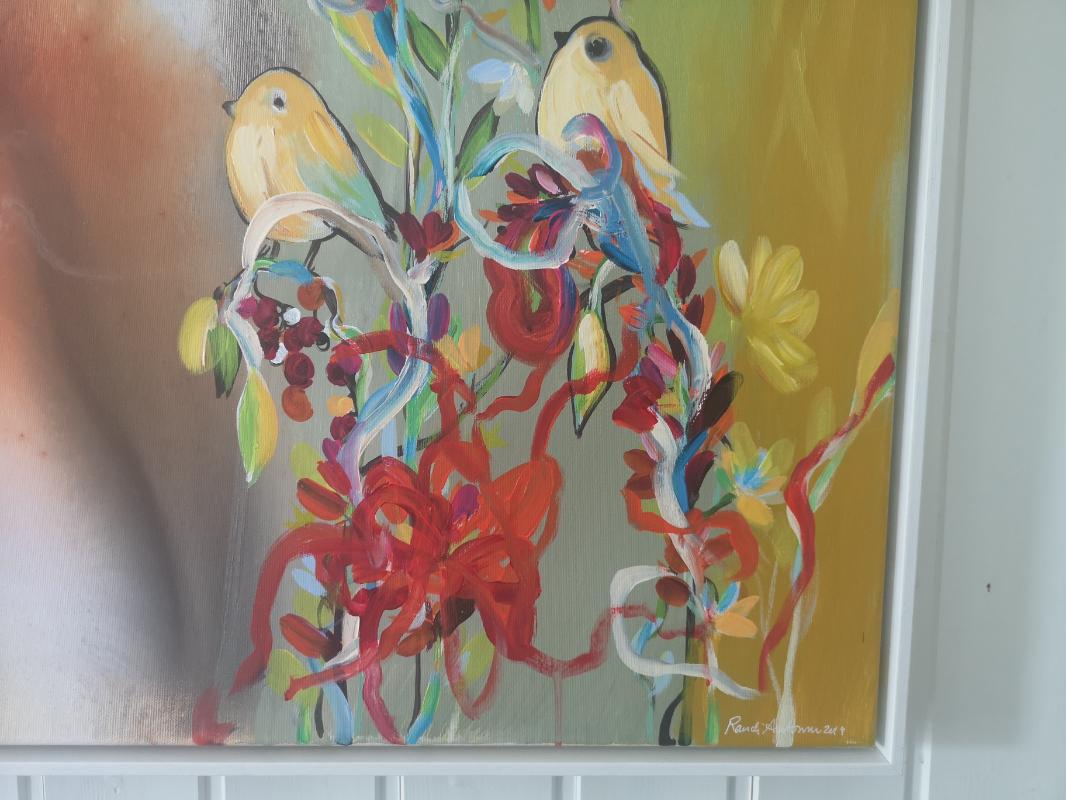 Maleri av Randi Antonsen