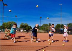 Bilde for Tenniskurs for små barn 4-7 år, våren 2021