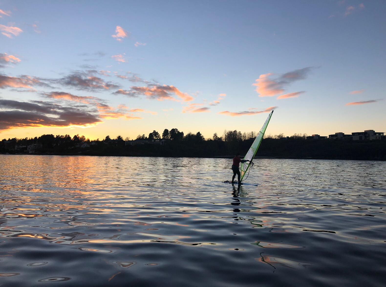 Headerbilde for Windsurfing kurs for voksen i uke 39