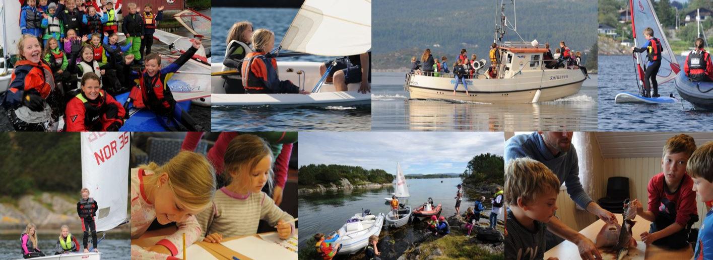 Headerbilde for Sommerseiluken 2021 siste uken i skoleferien for HjS seilere