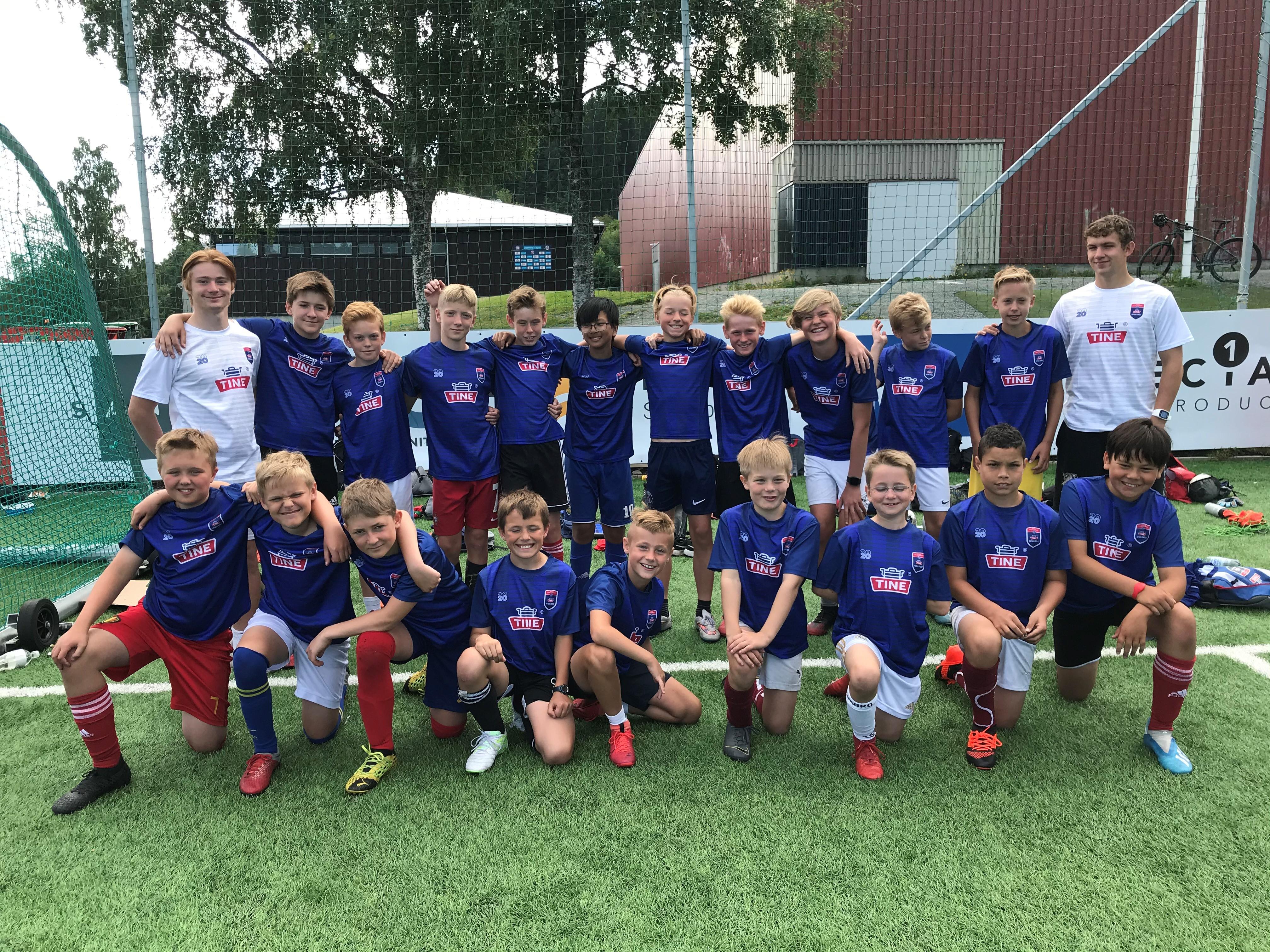 Headerbilde for TINE fotballskole Byåsen Toppfotball