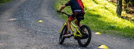 Bilde for Sykkelskole i Tæruddalen på tirsdager!