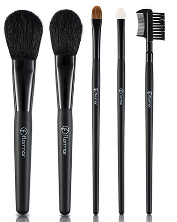 FLORMAR 5 PIECES MAKE-UP BRUSH SET