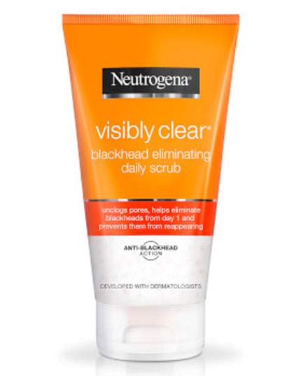NEUTROGENA 150ML VISIBLY CLEAR BLACKHEAD ELIMINATING DAILY SCRUB