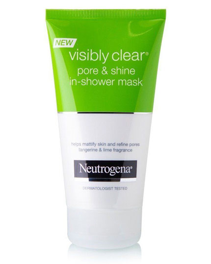 NEUTROGENA 150ML VISIBLY CLEAR PORE&SHINE SHOWER MASK