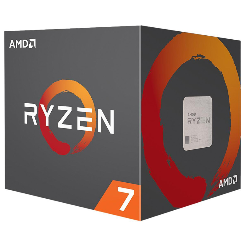 AMD Ryzen™ 7 PRO 2700X 2nd Gen With 4.3GHz, 8 Cores & 16 Thread