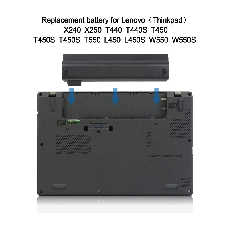 Lenovo ThinkPad Battery 68+ (6 cell) Lithium-Ion Notebook Battery