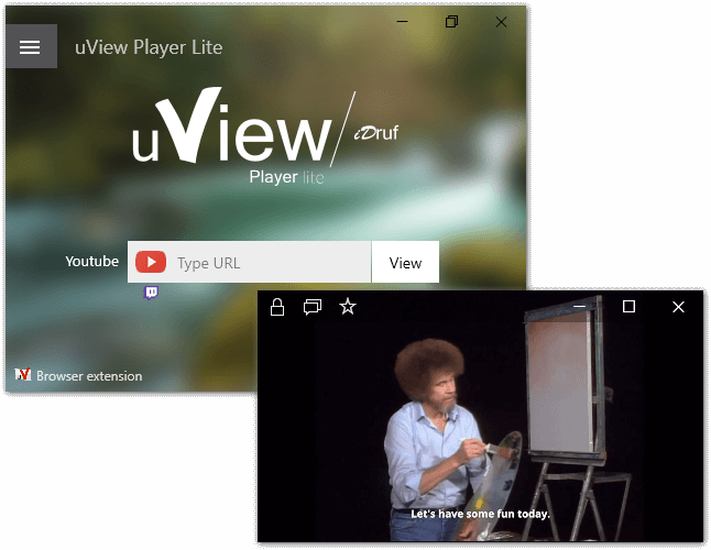 uView Lite Picture-in-picture
