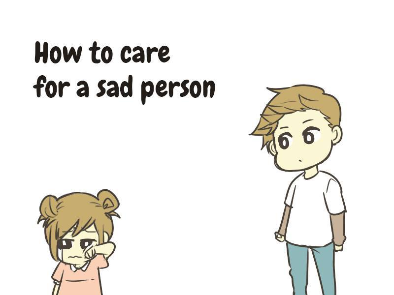 How to care for sad person sushi roll 1