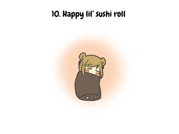 How to care for sad person sushi roll 11