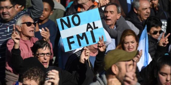 Imagen de la nota 'Patria o FMI, consigna de la contradicción principal de la Argentina'