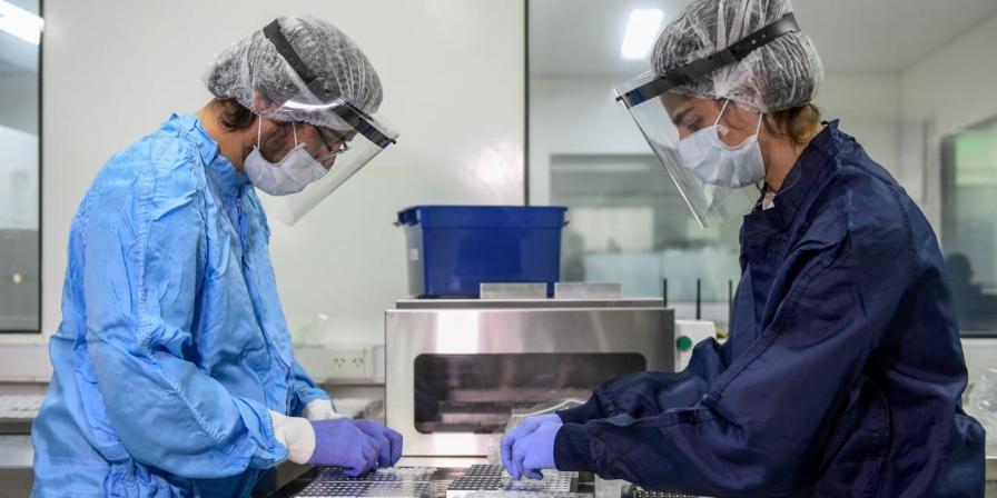 Imagen de la nota 'La ANMAT aprobó el test argentino para la detección rápida de coronavirus'