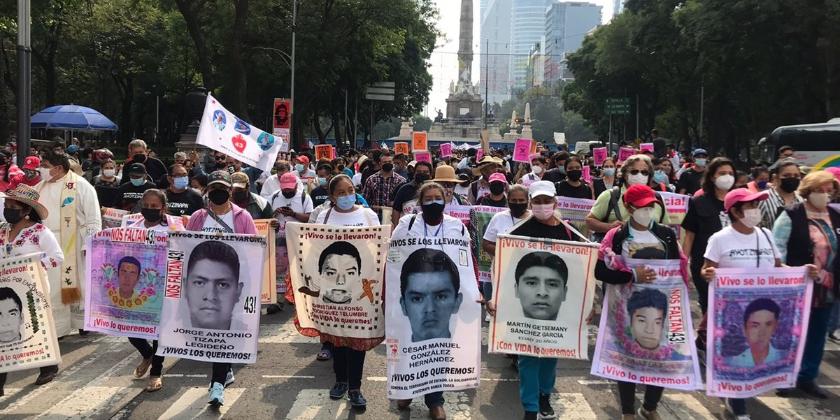 Imagen de la nota 'Ayotzinapa: siete años sin respuestas claras sobre los 43 estudiantes desaparecidos'