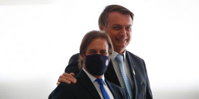 Imagen de la nota 'Flexibilización del Mercosur: Lacalle se alinea con Bolsonaro'