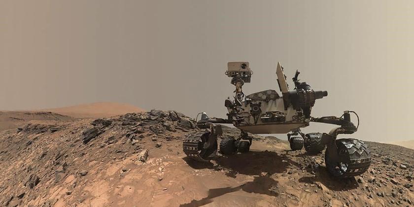 Imagen de la nota 'Un nuevo paso hacia el planeta rojo: El  rover logró aterrizar con éxito en Marte'