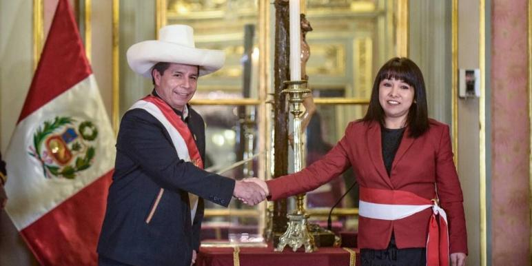 Imagen de la nota 'Perú: Ofensiva contra Castillo y nuevo gabinete en nombre de la gobernabilidad'