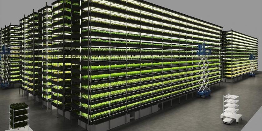Picture principal - La granja vertical más grande del mundo que funciona 100% con energía renovable