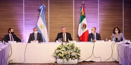 Imagen de la nota 'Alberto Fernández inició su gira en México reuniéndose con empresarios'