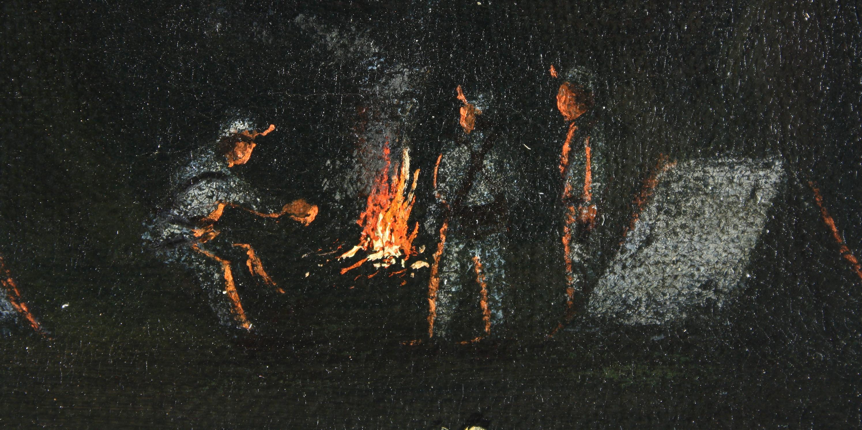 """Imagen de la nota '""""Panorama Cándido"""" en el Museo Histórico Nacional, un recorrido a la obra de Cándido López'"""