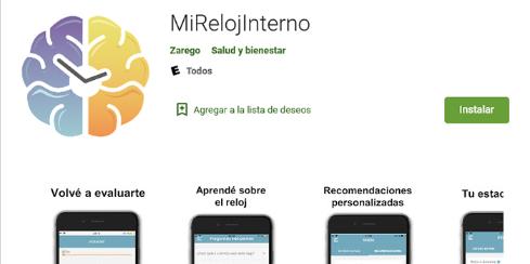 Imagen de la nota 'Lanzan en argentina una app gratuita para cuidar el reloj biológico'