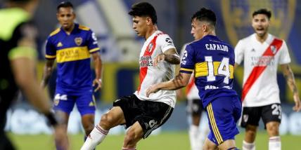 Imagen de la nota 'Boca y River repartieron puntos en el superclásico, el centésimo jugado en La Bombonera'