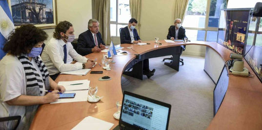 Picture principal - Coronavirus: los gobiernos provinciales apoyan las medidas restrictivas propuestas por el Gobierno Nacional