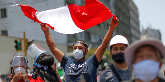 Imagen de la nota 'Perú va a las urnas envuelto en la apatía y la fragmentación '