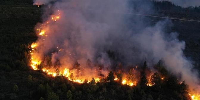 Imagen de la nota 'Sigue el fuego'