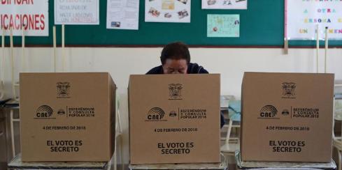 Picture principal - Ecuador ante una elección a cara o cruz