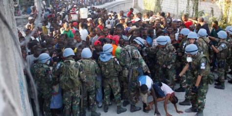 Imagen de la nota 'Haití: la ocupación interminable'