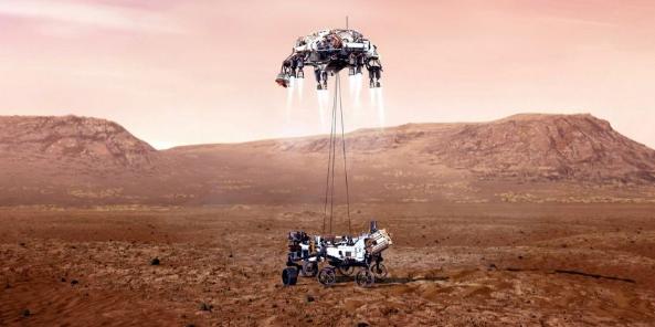 Picture principal - Tres robots exploradores están próximos a aterrizar en marte
