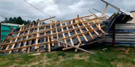 Imagen de la nota 'Entre Ríos: se registró una muerte tras el fuerte temporal '