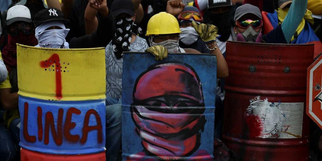 Imagen de la nota 'Colombia en la calle: Jugarse la vida y el futuro'