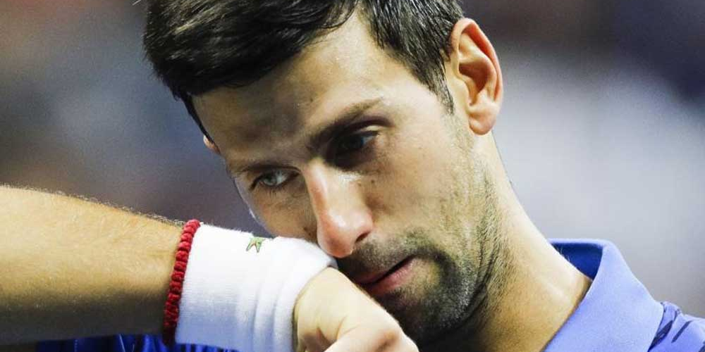 Imagen de la nota 'El tenista Novak Djokovic con coronavirus'