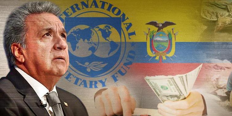 Imagen de la nota '¿Qué dejó el FMI en su paso por Ecuador?'