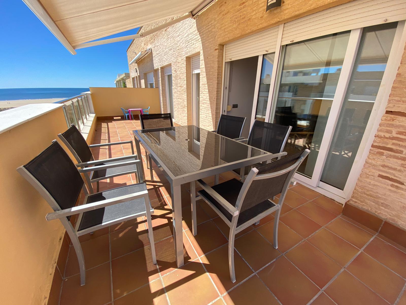 Imagen 5 del Apartamento Turístico, Ático 7 Poniente (3d+2b), Punta del Moral (HUELVA), Paseo de la Cruz nº22
